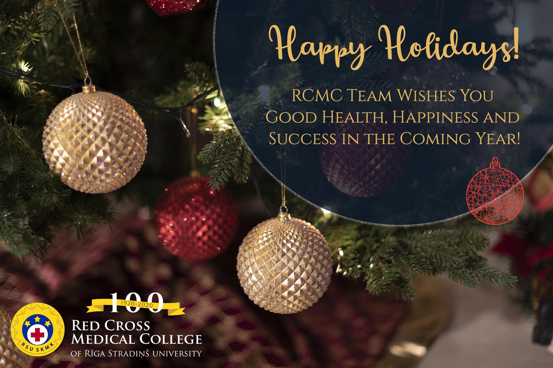 Happy Holidays RSU RCMC – 2